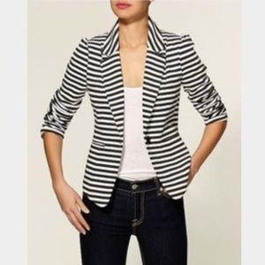 Catherine Malandrino Striped Blazer
